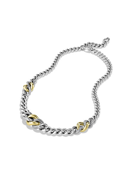 Cordelia Graduated Necklace with Gold