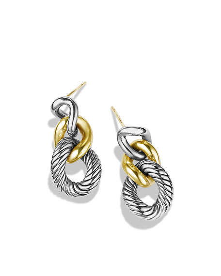 Cordelia Graduated Earrings with Gold