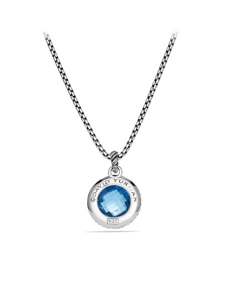 Midnight Mélange Pendant with Hampton Blue Topaz