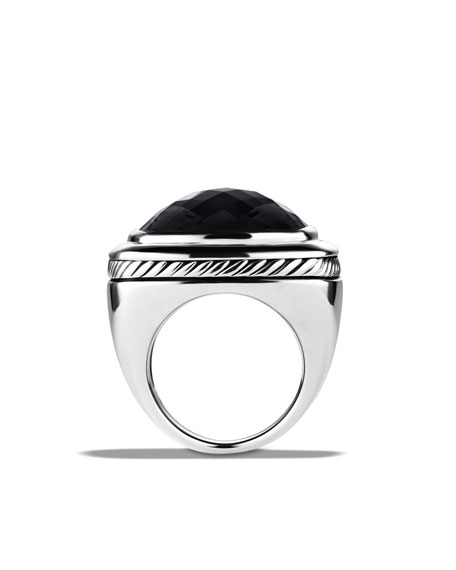 Albion Ring with Black Onyx