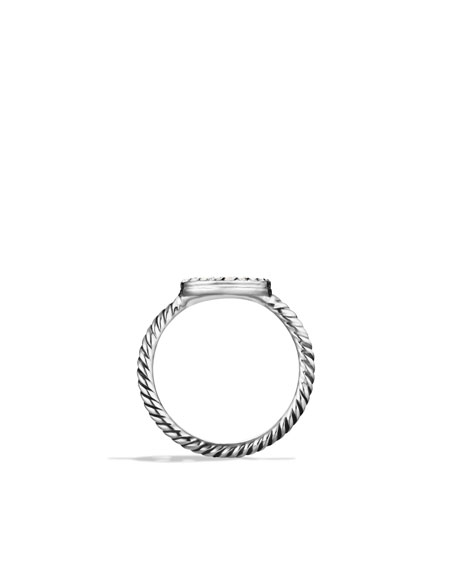 Cable Collectibles Peace Sign Ring with Diamonds