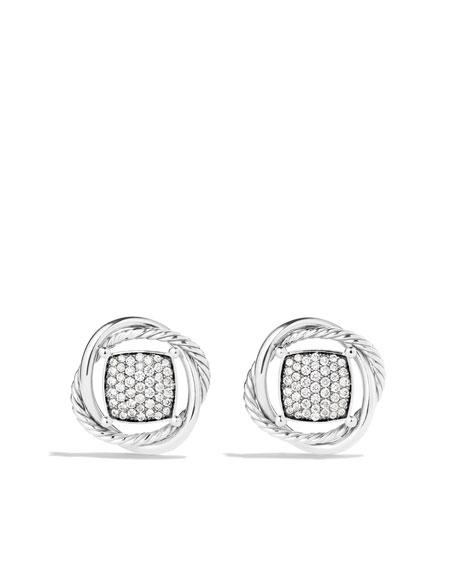 Infinity Earrings with Diamo