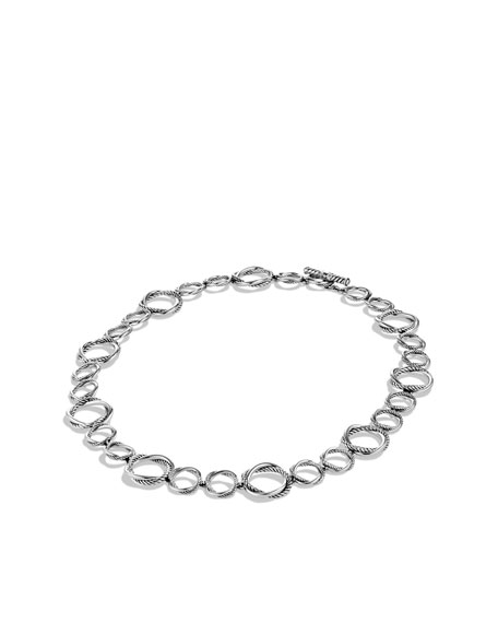 """Infinity Necklace, 11mm, 18"""""""