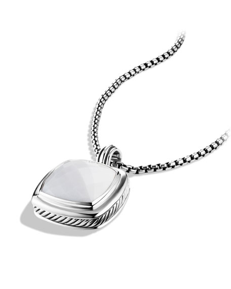 Albion Pendant with White Agate