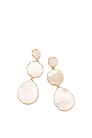 Ippolita 18k Gelato Crazy-Eight Earrings in Mother-of-Pearl