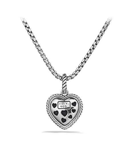Midnight Mélange Heart Pendant with Diamonds