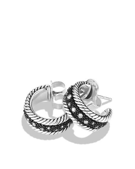 Midnight Mélange Earrings with Diamonds
