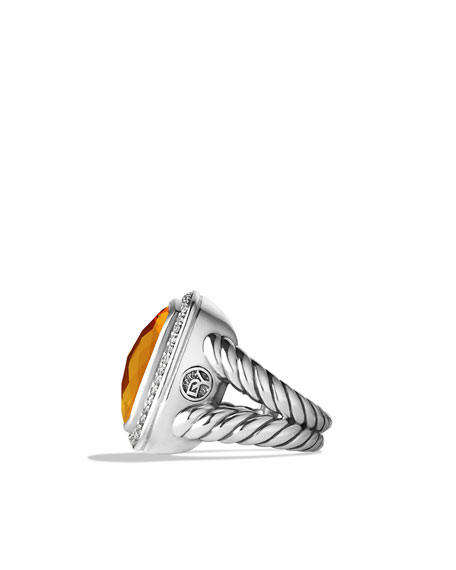 Albion Ring, Citrine, 17mm