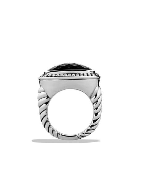Albion Ring, Black Onyx, 17mm