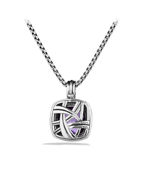 Albion Pendant with Amethyst and Diamonds