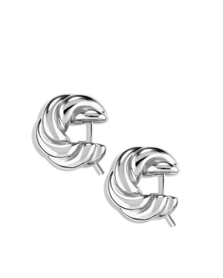 Sculpted Cable Small Earrings