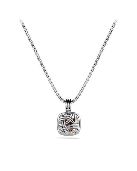 Albion Pendant with Smoky Quartz and Diamonds