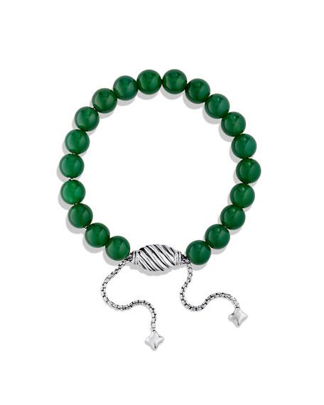 Spiritual Beads Bracelet with Green Onyx