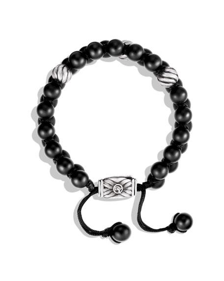 Spiritual Bead Bracelet, Black Onyx