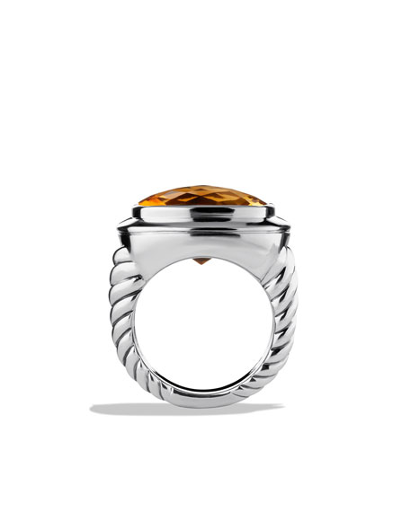 Albion Ring with Citrine