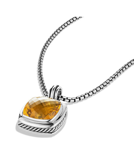 Albion Pendant with Citrine