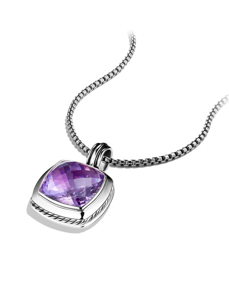 Albion Pendant with Amethyst