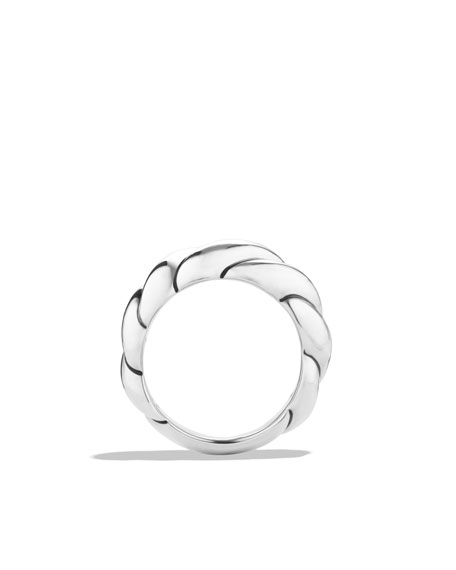 Sculpted Cable Narrow Ring