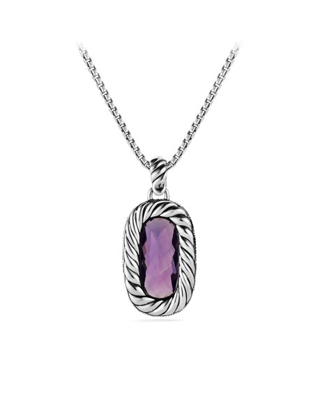 Midnight Mélange Pendant with Amethyst and Diamonds