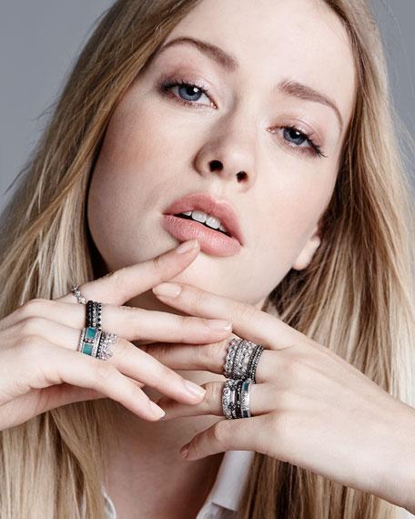 Scattered Diamond Ring