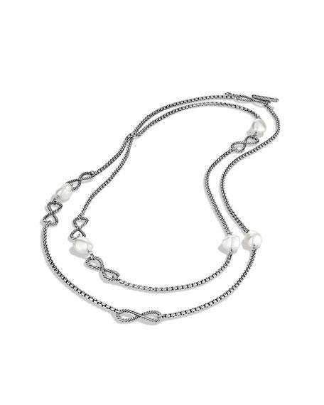 Confetti Figure-Eight Chain Necklace