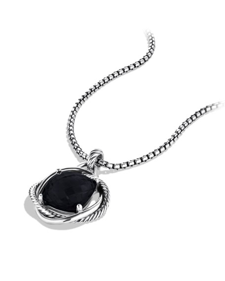 Infinity Pendant with Black Onyx