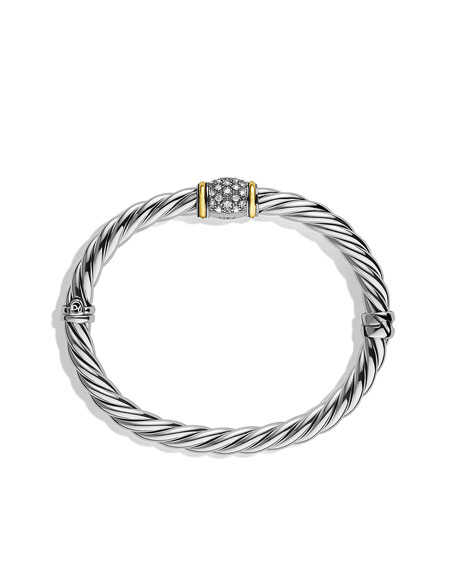 Metro Bracelet with Diamonds and Gold