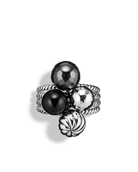 Elements Ring, Black Onyx