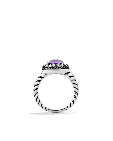 Midnight Mélange Ring with Amethyst and Diamonds