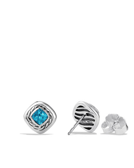Color Classics Earrings with Blue Topaz