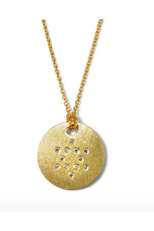 Roberto Coin Star of David Medallion Necklace