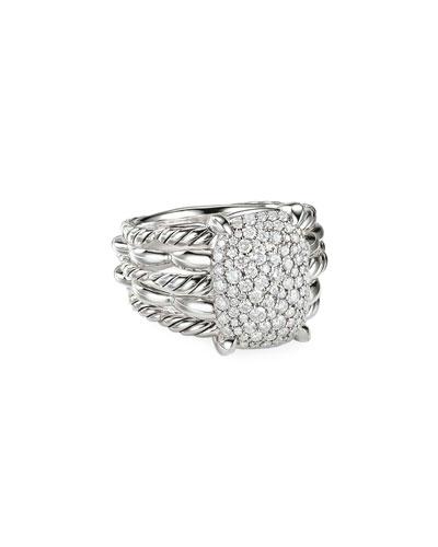 Tides Diamond Pave Ring