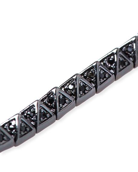 Small Pave Pyramid Bracelet