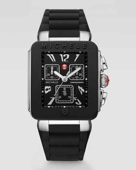 Park Jelly Bean Watch, Black/Stainless Steel