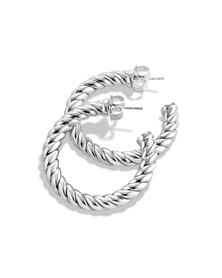 David Yurman Cable Classics Hoop Earrings