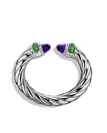 Waverly Bracelet with Amethyst and Tsavorites