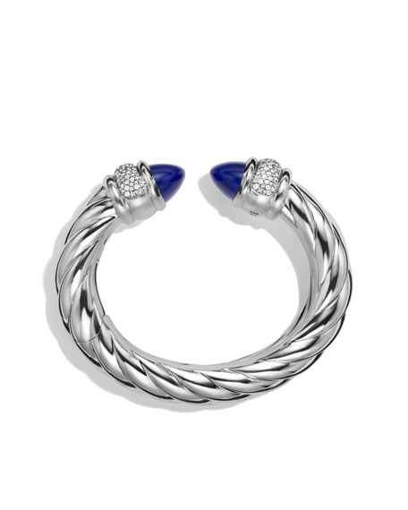 Waverly Bracelet with Lapis Lazuli and Diamonds