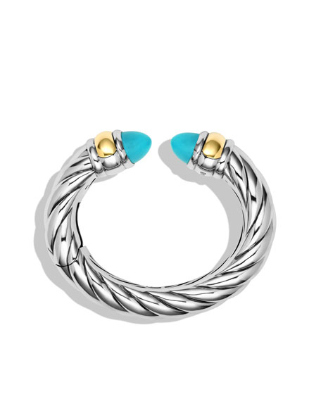 Waverly Bracelet with Turquoise and Gold