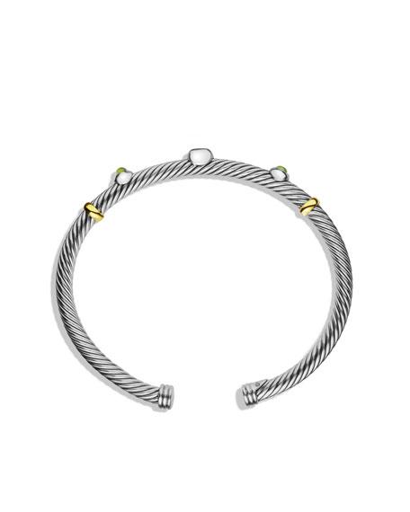 Renaissance Bracelet with Citrine and Gold