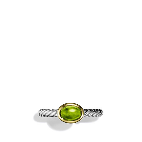 Color Classics Ring with Peridot and Gold