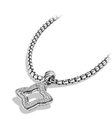 David yurman quatrefoil pendant with diamonds neiman marcus aloadofball Choice Image