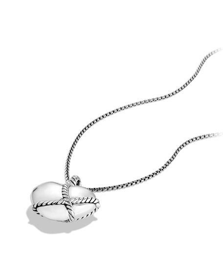Cable Heart Pendant