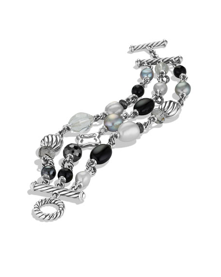 Bead Three-Row Bracelet