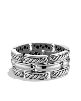 David Yurman Cable Classics Three-Row Bracelet