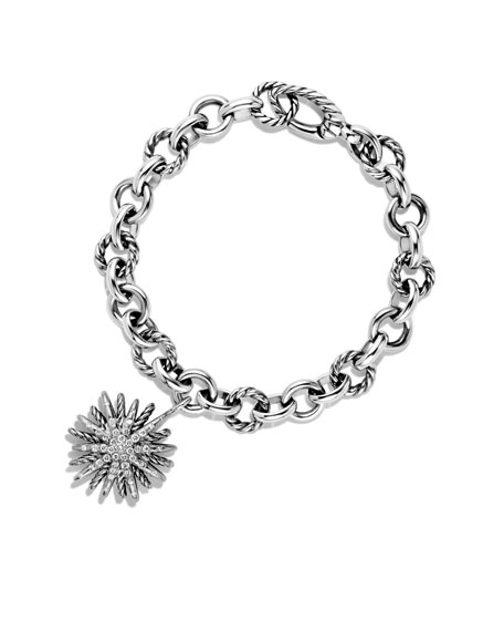 Starburst Charm Bracelet with Diamonds