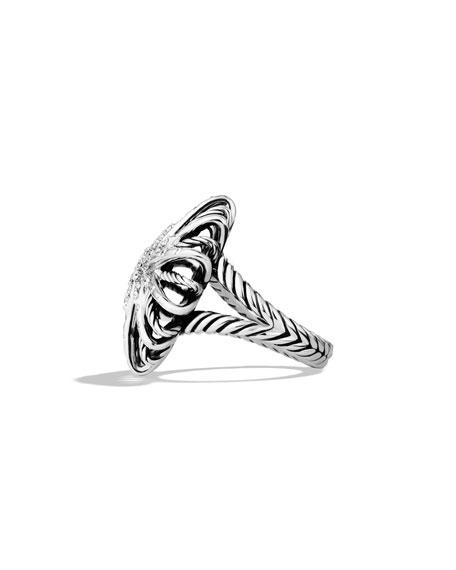 Starburst Ring with Diamonds