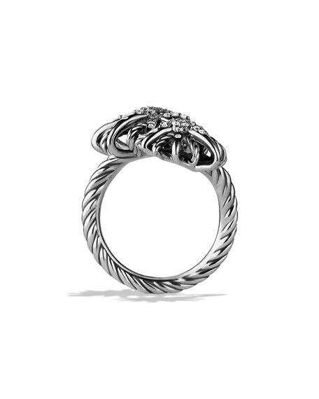 Starburst Open Ring with Diamonds