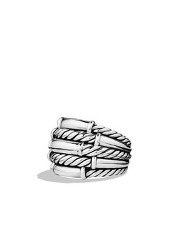 David Yurman Metro Cable Five-Row Ring