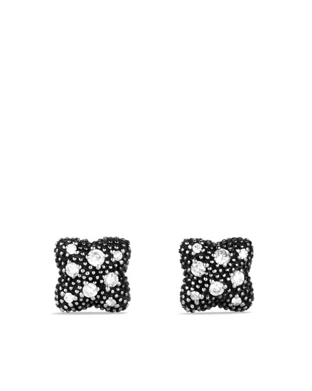 Quatrefoil® Drop Earrings with Diamonds