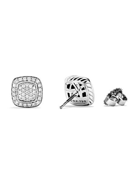 Petite Albion Earrings with Diamonds